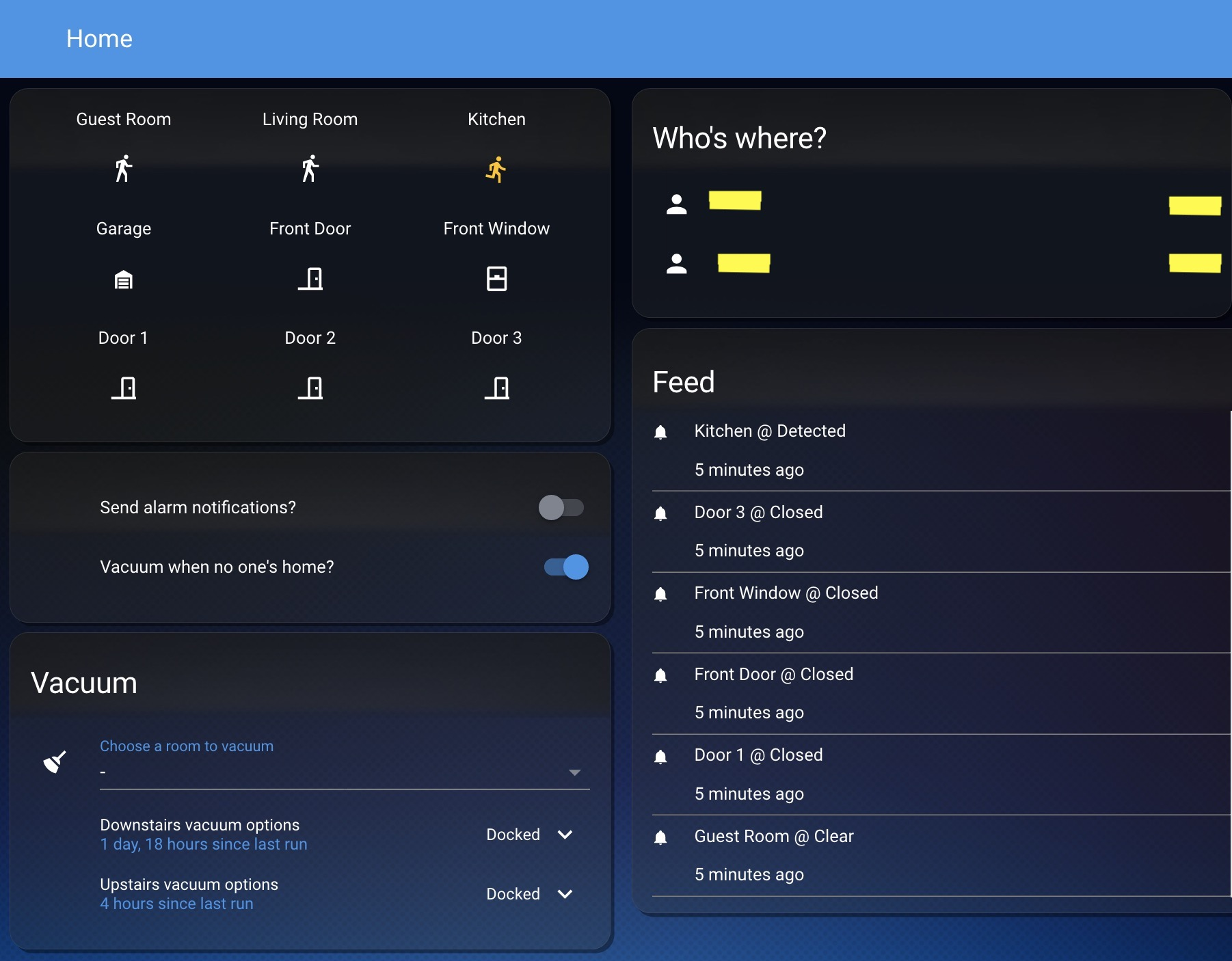 Home Assistant GUI